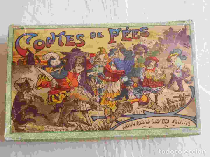 Juegos de mesa: M69 Juego de lotería Contes de Fees. Contiene 12 cartones ilustrados y móviles de cuentos infantiles - Foto 2 - 131749382