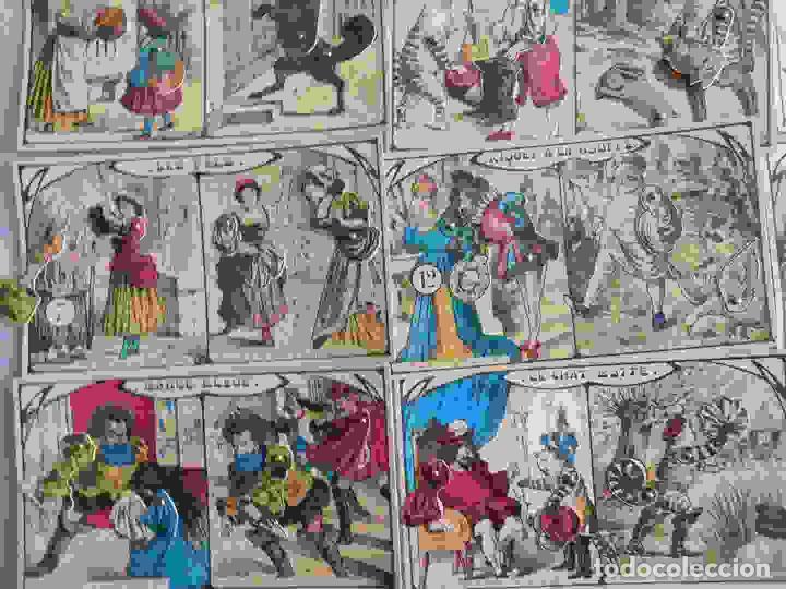 Juegos de mesa: M69 Juego de lotería Contes de Fees. Contiene 12 cartones ilustrados y móviles de cuentos infantiles - Foto 4 - 131749382