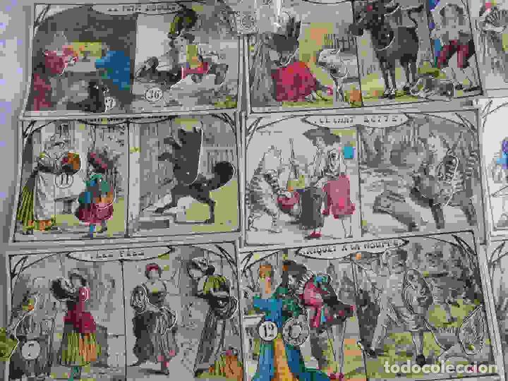 Juegos de mesa: M69 Juego de lotería Contes de Fees. Contiene 12 cartones ilustrados y móviles de cuentos infantiles - Foto 5 - 131749382