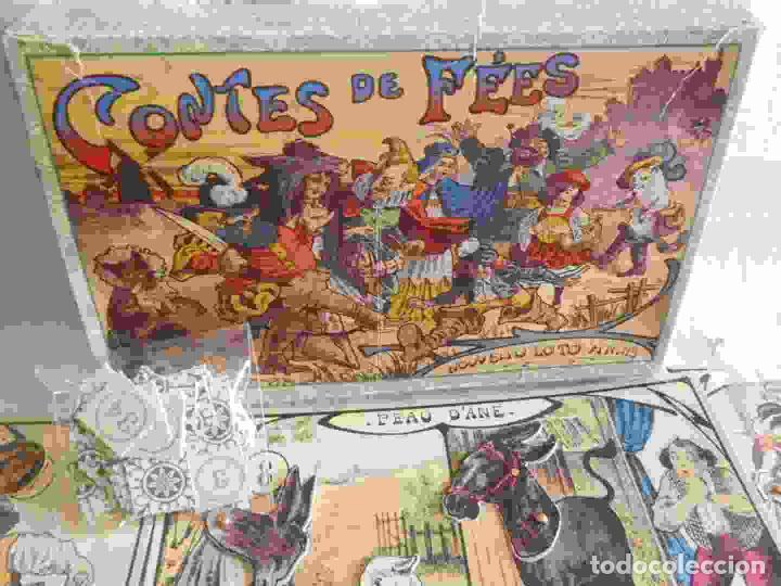 Juegos de mesa: M69 Juego de lotería Contes de Fees. Contiene 12 cartones ilustrados y móviles de cuentos infantiles - Foto 6 - 131749382