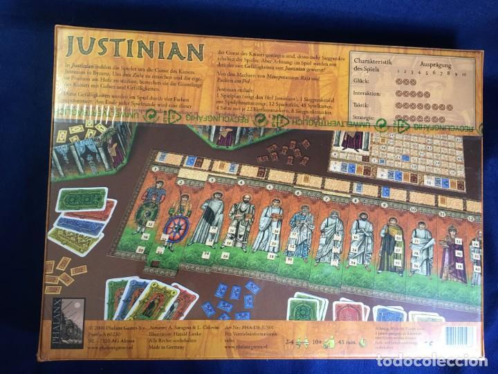 Juegos de mesa: JUEGO DE MESA JUSTINIAN DE PHALANX - PRECINTADO - Foto 2 - 131868978