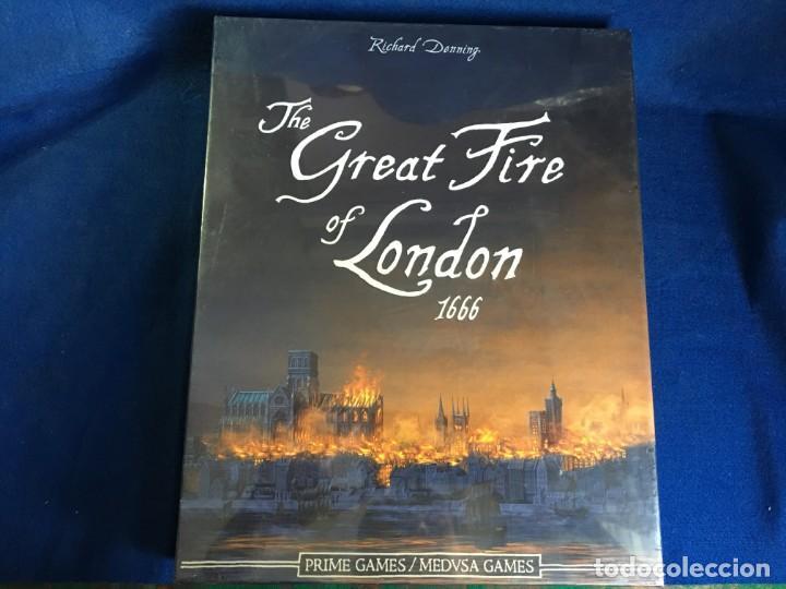 JUEGO DE MESA THE GREAT FIRE OF LONDON 1666 DE MEDUSA GAMES - PRECINTADO (Juguetes - Juegos - Juegos de Mesa)