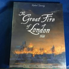 Juegos de mesa: JUEGO DE MESA THE GREAT FIRE OF LONDON 1666 DE MEDUSA GAMES - PRECINTADO. Lote 131869342