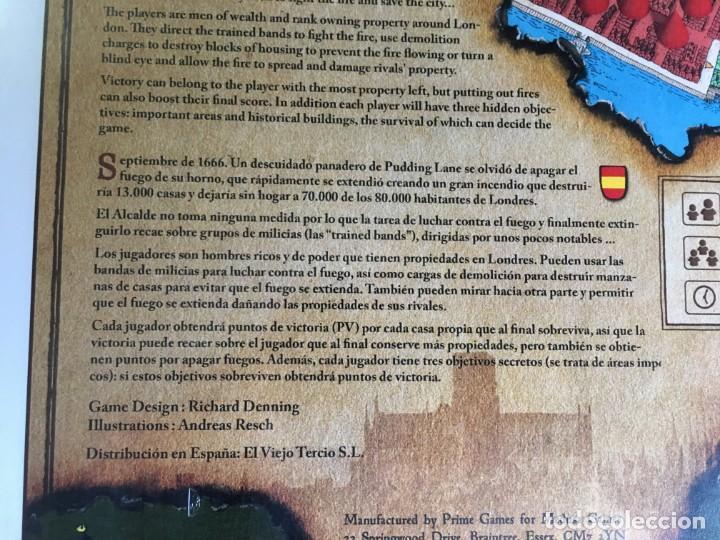 Juegos de mesa: JUEGO DE MESA THE GREAT FIRE OF LONDON 1666 DE MEDUSA GAMES - PRECINTADO - Foto 3 - 131869342