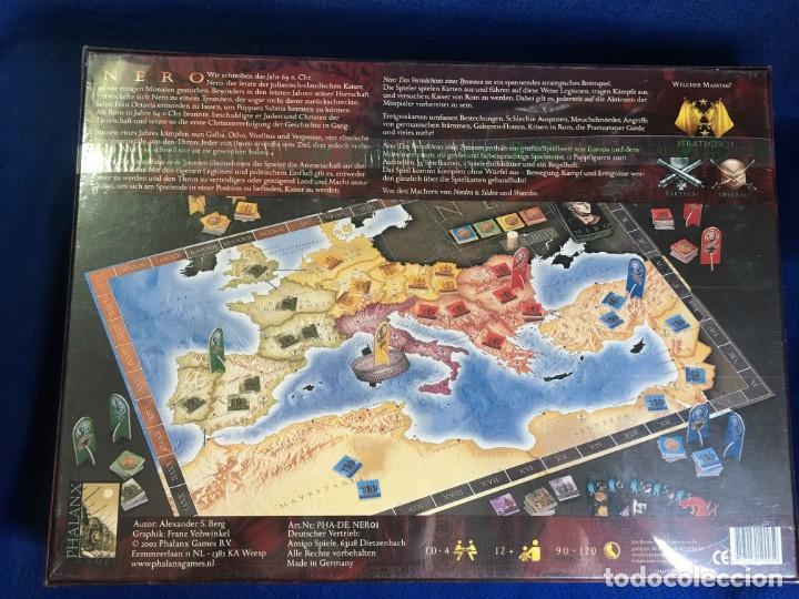 Juegos de mesa: JUEGO DE MESA NERO DE PHALANX GAMES - PRECINTADO - Foto 2 - 131869502