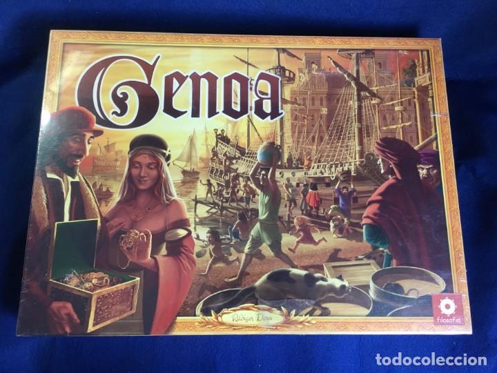 JUEGO DE MESA GENOA DE FILOSOFIA GAMES - PRECINTADO (Juguetes - Juegos - Juegos de Mesa)