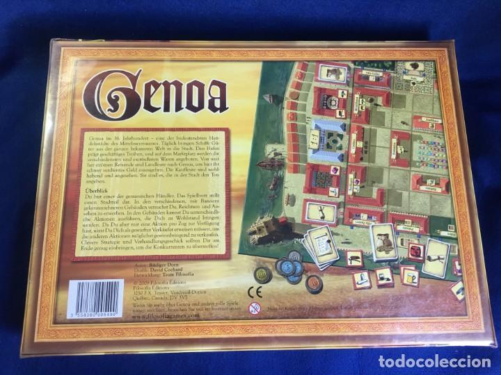 Juegos de mesa: JUEGO DE MESA GENOA DE FILOSOFIA GAMES - PRECINTADO - Foto 2 - 131869814