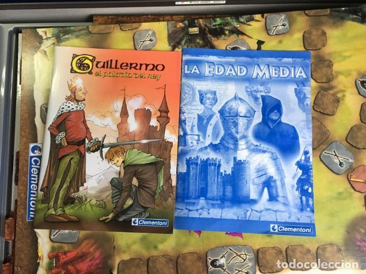 Juegos de mesa: JUEGO DE MESA LA EDAD MEDIA AVENTURA EN EL TIEMPO DE CLEMENTONI - Foto 2 - 131870594