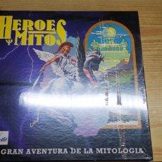 Juegos de mesa: HEROES Y MITOS LA GRAN AVENTURA DE LA MITOLOGÍA. Lote 131961597