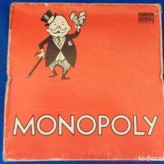 Juegos de mesa: MONOPOLY - ANTIGUO JUEGO DE MESA MONOPOLY PARKER AÑOS 80 VER FOTOS Y DESCRIPCIÓN! SM. Lote 132001818