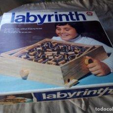 Juegos de mesa: LABERINTO DE MADERA ,ESTRELLA LABYRINTH JUEGO MADE IN BRAZIL 1964,EN CAJA ORIGINAL.. Lote 132112922