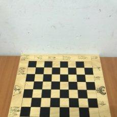 Juegos de mesa: TABLERO AJEDREZ. Lote 132249886