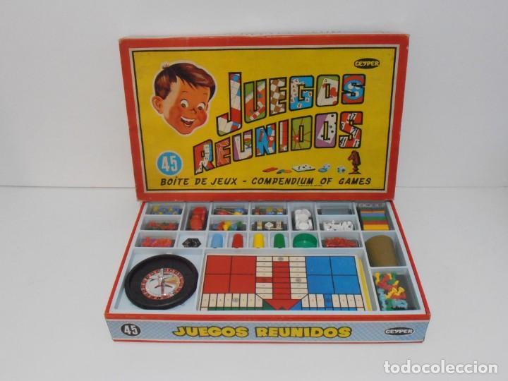 Juegos Reunidos Geyper 45 Caja Grande Impecab Comprar Juegos De