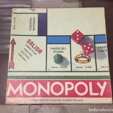 Juegos de mesa: MONOPOLY. Lote 132348506