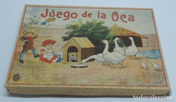 Juegos de mesa: ANTIGUO JUEGO DE LA OCA, COMPLETAMENTE ORIGINAL, CON INSTRUCCIONES,º la caja de carton mide 25,5 X 1 - Foto 5 - 132623598