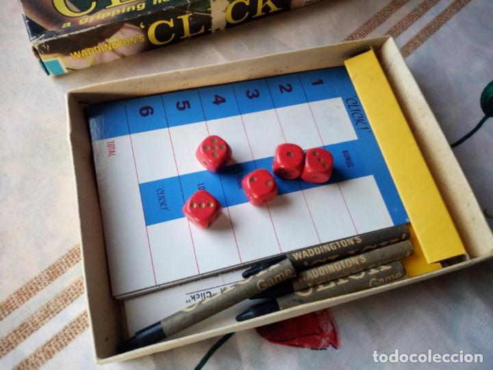 Juegos de mesa: Waddington´s Click Juego de mesa inglés. target games 1967 - Foto 2 - 132648790