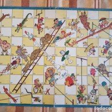 Juegos de mesa: JUEGO DE LA ESCALERA KARPA ILUSTRADOR TABLERO EN CARTON. Lote 222727653