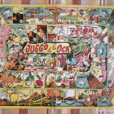 Juegos de mesa: JUEGO DE LA OCA TABLERO EN CARTON . Lote 132752406