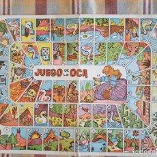 Juegos de mesa: JUEGO DE LA OCA TABLERO EN CARTON. Lote 132752442