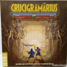 Juegos de mesa: CRUCIGRAMARIUS - JUEGO DE MESA - ENIGMAS LINGUÍSTICOS TEMATICA EGIPTO DEVIR CRUCIGRAMA NO CEFA. Lote 132768486