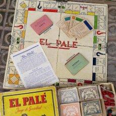 Juegos de mesa: JUEGO DE MESA - EL PALÉ, JUEGO DE SOCIEDAD, EN CAJA ORIGINAL E INSTRUCCIONES, AÑOS 50- COMPLETO!!!. Lote 132977422