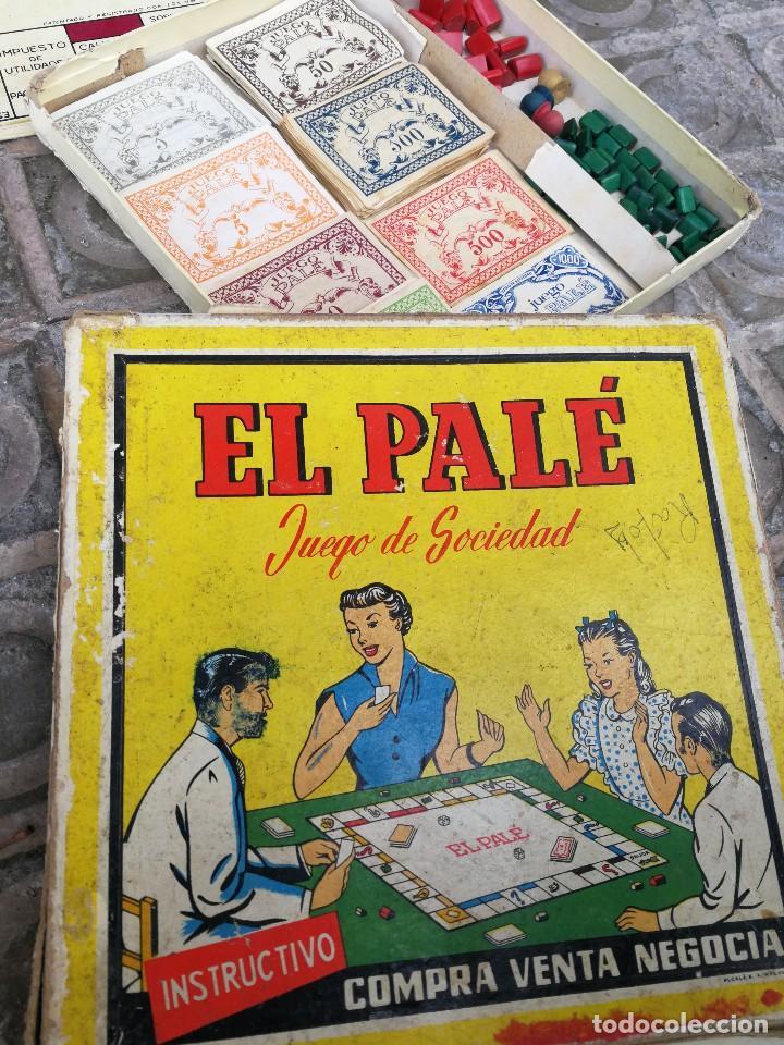 Juegos de mesa: JUEGO DE MESA - EL PALÉ, JUEGO DE SOCIEDAD, EN CAJA ORIGINAL E INSTRUCCIONES, AÑOS 50- COMPLETO!!! - Foto 2 - 132977422