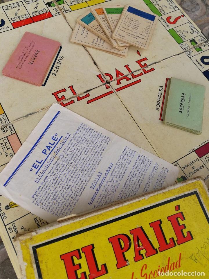 Juegos de mesa: JUEGO DE MESA - EL PALÉ, JUEGO DE SOCIEDAD, EN CAJA ORIGINAL E INSTRUCCIONES, AÑOS 50- COMPLETO!!! - Foto 3 - 132977422