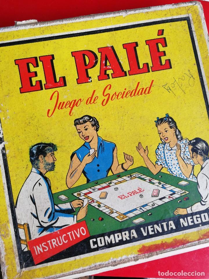Juegos de mesa: JUEGO DE MESA - EL PALÉ, JUEGO DE SOCIEDAD, EN CAJA ORIGINAL E INSTRUCCIONES, AÑOS 50- COMPLETO!!! - Foto 5 - 132977422