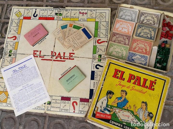 Juegos de mesa: JUEGO DE MESA - EL PALÉ, JUEGO DE SOCIEDAD, EN CAJA ORIGINAL E INSTRUCCIONES, AÑOS 50- COMPLETO!!! - Foto 7 - 132977422