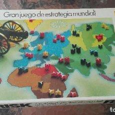 Juegos de mesa: JUEGO DE MESA RISK DE BORRAS AÑOS 80. Lote 133244234