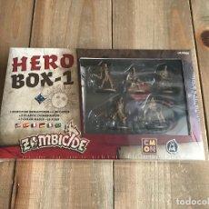 Juegos de mesa: JUEGO DE MESA - ZOMBICIDE BLACK PLAGUE - HERO BOX 1 - EDGE - CMON - PRECINTADO. Lote 133329658