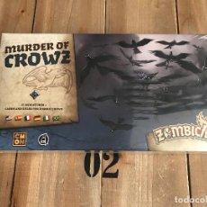 Juegos de mesa: JUEGO DE MESA - ZOMBICIDE BLACK PLAGUE - MURDER OF CROWZ - EDGE - CMON - PRECINTADO. Lote 160360973