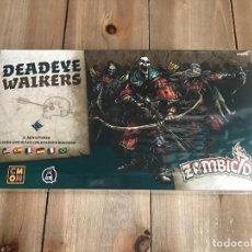 Juegos de mesa: JUEGO DE MESA - ZOMBICIDE BLACK PLAGUE - DEADEYE WALKERS - EDGE - CMON - PRECINTADO. Lote 160360958