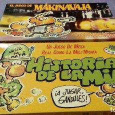 Juegos de mesa: HISTORIAS DE LA PUTA MILI Y MAKINAVAJA. Lote 133351794