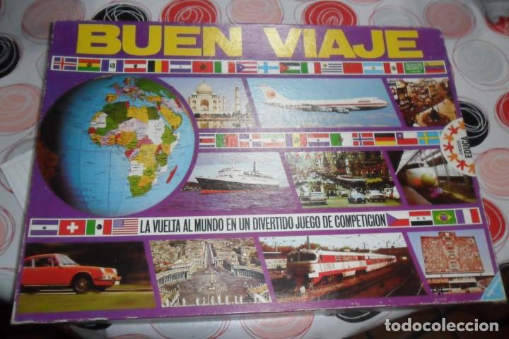 Buen Viaje Antex Juego Retro Billete Turismo Ra Comprar Juegos De