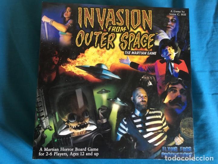 JUEGO DE MESA INVASION FROM OUTER SPACE - INVASION EXTRATERRESTRE (Juguetes - Juegos - Juegos de Mesa)