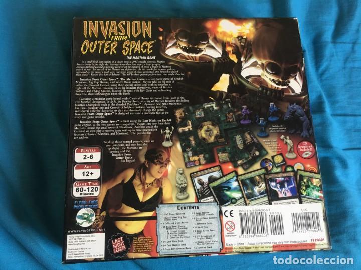 Juegos de mesa: JUEGO DE MESA INVASION FROM OUTER SPACE - INVASION EXTRATERRESTRE - Foto 2 - 133378514