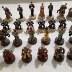 Juegos de mesa: AJEDREZ DE RESINA TEMATICO ANTIGUO OESTE AMERICANO- INDIOS- SOLDADOS. Lote 133385950