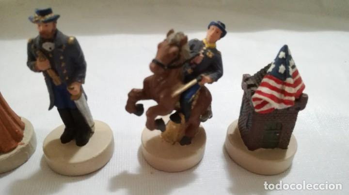 Juegos de mesa: AJEDREZ DE RESINA TEMATICO ANTIGUO OESTE AMERICANO- INDIOS- SOLDADOS - Foto 17 - 133385950