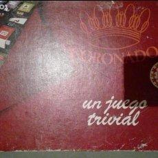 Juegos de mesa: CORONADO UN JUEGO TRIVIAL. Lote 133439970