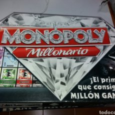 Juegos de mesa: MONOPOLY MILLONARIO HASBRO. Lote 133479643