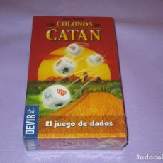 Juegos de mesa: LOS COLONOS DE CATAN ( EL JUEGO DE DADOS ) - NUEVO Y PRECINTADO - DEVIR - KOSMOS. Lote 133668050