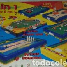 Juegos de mesa: JUEGO DE MESA 6 EN 1. Lote 133684283