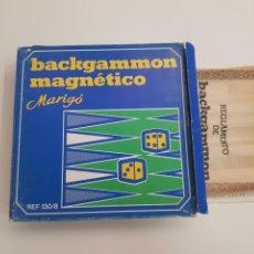 Juegos de mesa: JUEGO MAGNETICO - MARILO - BACKGAMON - CAR107. Lote 133769403