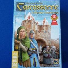 Juegos de mesa: CARCASSONE EDICIÓN DE INVIERNO. Lote 134018103