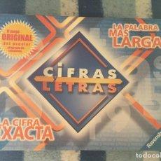 Juegos de mesa: CIFRAS Y LETRAS LA CIFRA EXACTA LA PALABRA MAS LARGA ORIGINAL POPULAR JUEGO DE MESA KREATEN. Lote 134113418