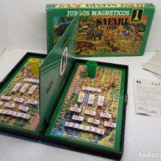 Juegos de mesa: JUEGO DE MESA MAGNÉTICO RIMA, SAFARI Y FÚTBOL. Lote 134113742
