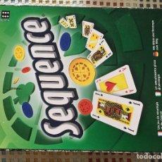 Juegos de mesa: SEQUENCE TACTICA ESTRATEGIA NAIPES CARTAS NAIPE CARTA JUEGO DE MESA KREATEN. Lote 134114206