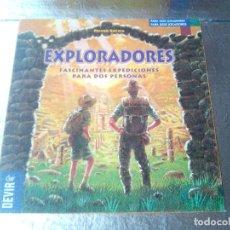 Juegos de mesa: EXPLORADORES-DEVIR-FASCINANTES EXPEDICIONES PARA 2 PERSONAS-COMPLETO. Lote 134308578
