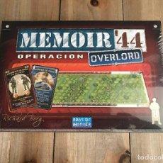 Giochi da tavolo: JUEGO WARGAME - MEMOIR ´44 - OPERACIÓN OVERLORD - DAYS OF WONDER - EDGE - WWII - ESTRATEGIA. Lote 134759822